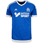 adidas Olympique Marseille 15/16 3rd Fußballtrikot Herren blau / weiß
