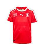 PUMA Schweiz WM 2014 Heim Fußballtrikot Kinder rot / weiß