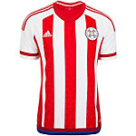 adidas Paraguay Copa America 2015 Heim Fußballtrikot Herren rot / weiß / blau
