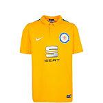 Nike Eintracht Braunschweig 15/16 Heim Fußballtrikot Kinder gelb / blau