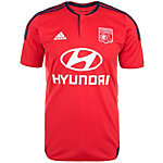 adidas Olympique Lyon 15/16 Auswärts Fußballtrikot Herren rot / weiß / blau
