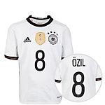adidas DFB Trikot Özil EM 2016 Heim Fußballtrikot Kinder weiß / schwarz