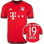 adidas FC Bayern München Götze 15/16 Heim Fußballtrikot Herren rot / weiß