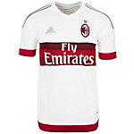 adidas AC Mailand 15/16 Auswärts Fußballtrikot Herren weiß / rot