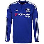 adidas FC Chelsea 15/16 Heim Fußballtrikot Herren blau / weiß / rot