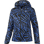 Nike Palm Impossibly Light Kapuzenjacke Damen blau/schwarz