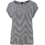 TOM TAILOR Printshirt Damen navy