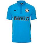Nike Inter Mailand 14/15 3rd Fußballtrikot Herren hellblau / schwarz