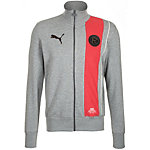 PUMA Fortuna Düsseldorf Trainingsjacke Herren grau / rot