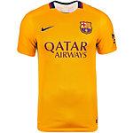 Nike FC Barcelona 15/16 Auswärts Fußballtrikot Herren gold / dunkelblau