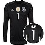 adidas DFB Neuer EM 2016 Heim Torwarttrikot Herren schwarz / weiß