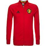adidas Belgien EM 2016 Trainingsjacke Herren rot / schwarz