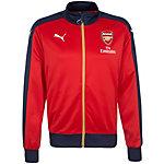 PUMA FC Arsenal Trainingsjacke Herren rot / dunkelblau