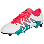 adidas X 15.1 Fußballschuhe Damen weiß / pink / mint