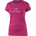Arcteryx Arc´word SS Printshirt Damen pink