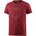 Volcom Pinline Printshirt Herren rostrot