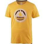 Volcom Dusk Printshirt Herren senfgelb