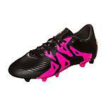 adidas X 15.3 Fußballschuhe Kinder schwarz / pink
