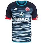 Lotto FSV Mainz 05 3rd 2015/2016 Fußballtrikot Herren dunkelblau / blau