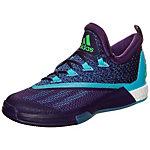 adidas Crazylight Boost 2.5 Low Basketballschuhe Herren lila / blau / grün