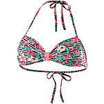 Protest MM Guru Bikini Oberteil Damen grün/koralle/schwarz/weiß