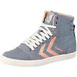 hummel Slimmer Stadil High Sneaker Damen grau/rosa