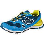 Jack Wolfskin Trail Excite Low Mountain Running Schuhe Herren blau/grün