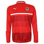 PUMA Österreich Trainingssweat Sweatshirt Herren rot / weiß
