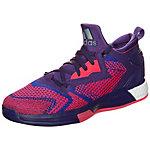 adidas Damian Lillard Basketballschuhe Herren lila / pink / weiß