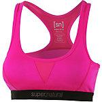 super natural Semplice Merino Sport-BH Damen pink
