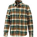 Picture Cooper Outdoorhemd Herren grün/braun/weiß