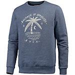 RVCA Palm Moon Sweatshirt Herren blau