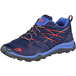 The North Face Hedgehog Fastpack Lite Wanderschuhe Damen blau/orange