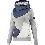 Picture Lily Sweatshirt Damen grau/blau/weiß