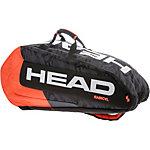 HEAD Radical 9R Supercombi BKOR Tennistasche schwarz/orange