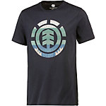 Element Blanket Printshirt Herren blau