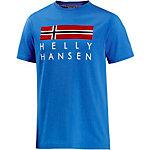 HELLY HANSEN Printshirt Herren blau