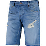 Pepe Jeans Hayes Jeansshorts Herren destroyed denim