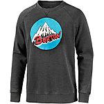 Burton Retro Mountain Sweatshirt Herren schwarz