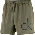 Calvin Klein Core Solids Badeshorts Herren oliv