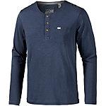 O'NEILL Jack's Base Henley Langarmshirt Herren blau