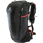 Salomon Peak 30 Daypack schwarz/rot
