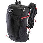 Salomon Peak 20 Daypack schwarz/rot
