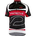 Protective Matthew Fahrradtrikot Herren schwarz/weiß/rot
