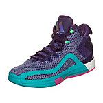 adidas John Wall 2 Boost Basketballschuhe Kinder lila / türkis
