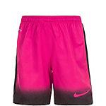 Nike Laser Woven Print Fußballshorts Kinder pink / schwarz