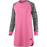 Colour Wear Slit Longsweat Damen rosa/leo
