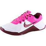 Nike Metcon 2 Fitnessschuhe Damen weiß/dunkelrot/pink