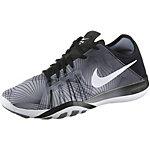 Nike Free TR 6 Print Fitnessschuhe Damen schwarz/grau