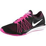 Nike Dual Fusion TR HIT Print Fitnessschuhe Damen schwarz/pink